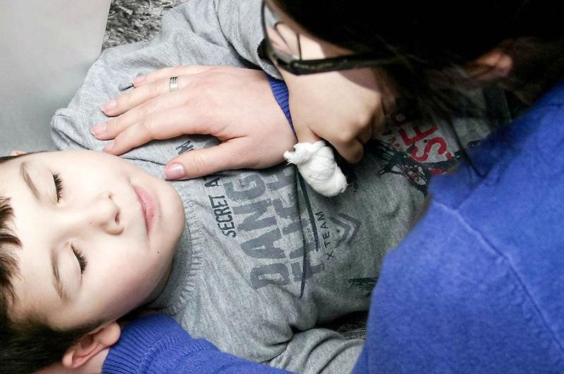 évanouissement d'un enfant