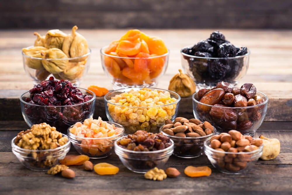 4 recettes de fruits secs à essayer